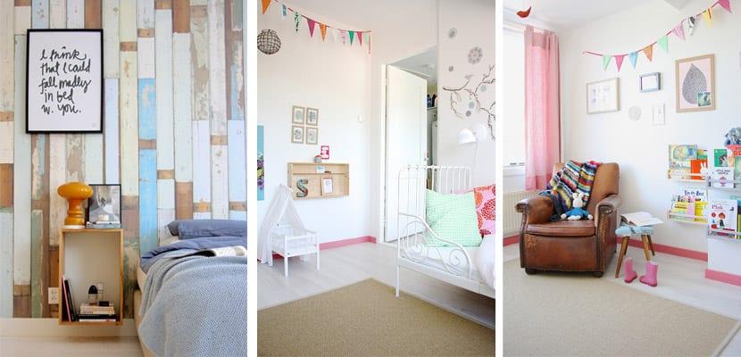 Casa de estilo escandinavo-dormitorios