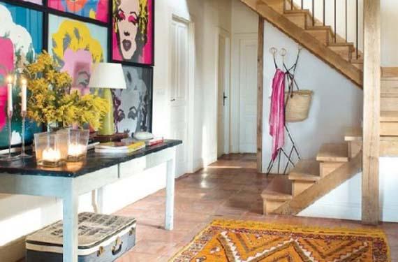 Una casa r stica con toques retro y modernos - Como pintar una casa rustica ...