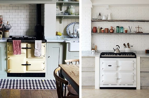 Cocinas y hornos Aga