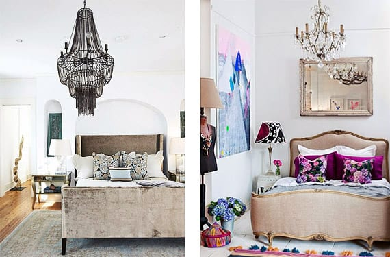 L mparas de ara a para decorar dormitorios de inpiraci n - Lamparas de techo dormitorio ...