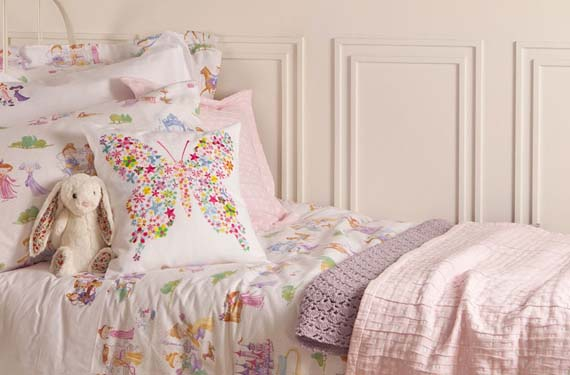 Dormitorio primaveral infantil