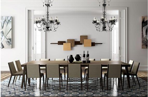 Muebles cubistas la ebanisteria para ambientes modernos for Salon comedor minimalista