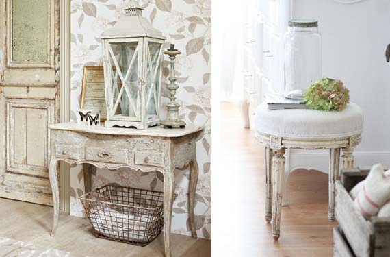 Claves del estilo shabby chic for Muebles shabby