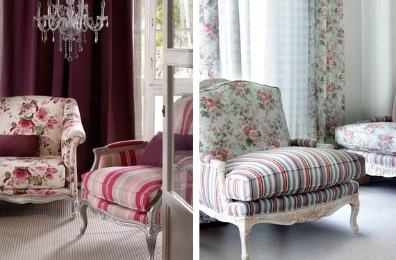 Marca la diferencia con un sill n de rayas - Telas para tapizar un sillon ...