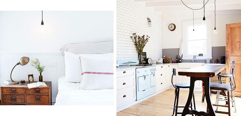Casa rústica y vintage