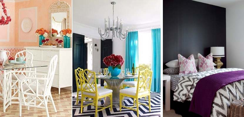 Decorar con rayas Chevron