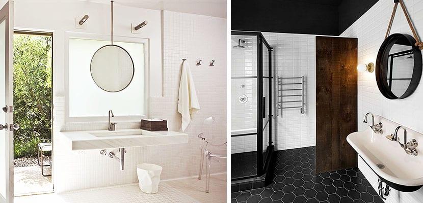 Espejos redondos para decorar el cuarto de ba o for Espejo redondo vintage