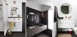 Espejo redondo cuarto de baño