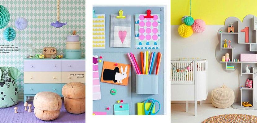 Habitaciones infantiles a todo color