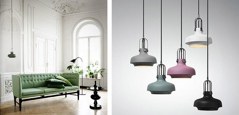 Lámpara Copenhagen Pendant