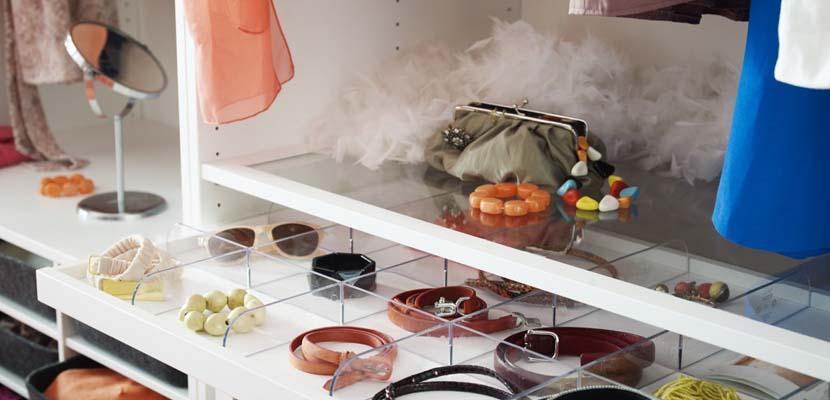 Soluciones para organizar tu armario