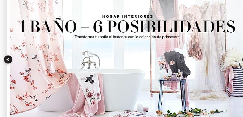 Un baño, seis posibilidades