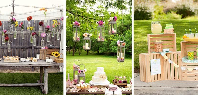 C mo decorar las fiestas en el jard n for Fiesta de jardin