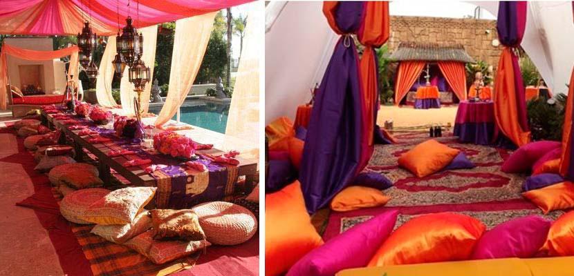 Decoración de fiesta hindú