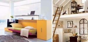 Decorar con muebles multifunción
