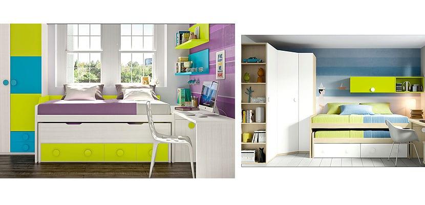 Propuestas para amueblar dormitorios juveniles - Cajoneras para dormitorios juveniles ...