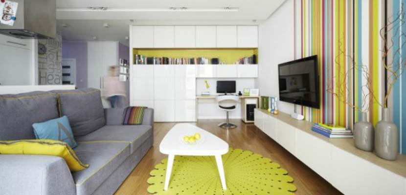 Decorar espacios bajos y pequeños