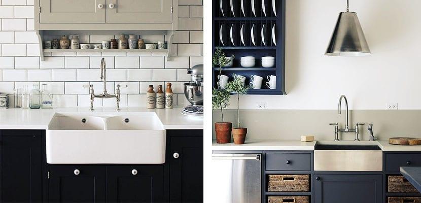 materiales para el fregadero de la cocina