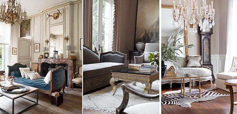 Salones de estilo francés