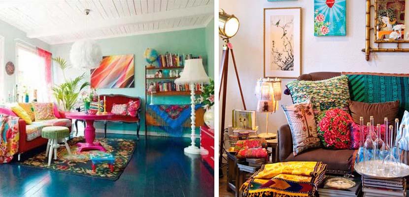 Salones llenos de colorido
