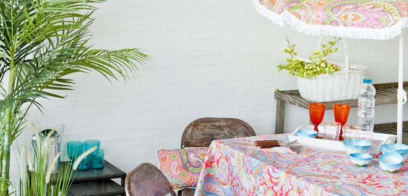 Terrazas coloridas de Zara Home