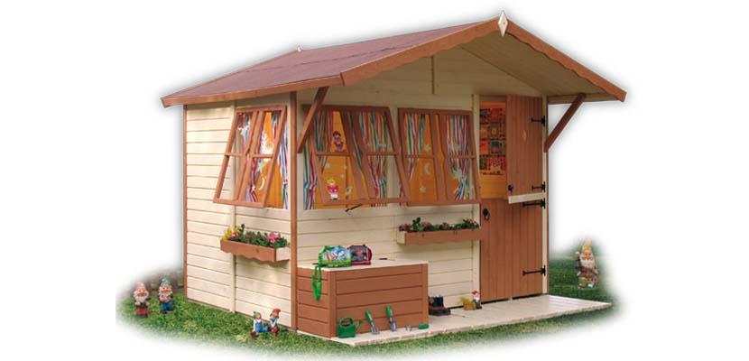 Casitas Infantiles Asombrosas Para Tu Jardin - Casitas-de-plastico-para-jardin