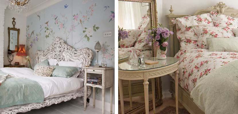 Dormitorios femeninos vintage