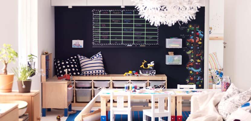 Zona de juegos de Ikea para niños