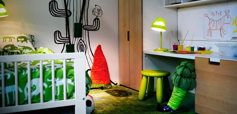 Habitaciones originales de Ikea para niños