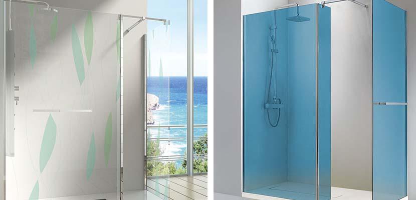 Mamparas de ducha fijas