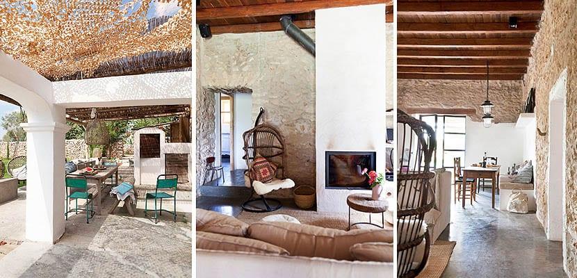 casa rústica en Ibiza