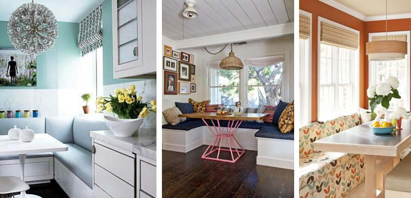 Comedores peque os con un espacio bien aprovechado for Muebles comedores pequenos