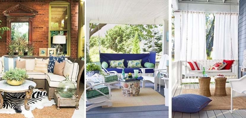 Tips para decorar un porche con encanto - Porches con encanto ...