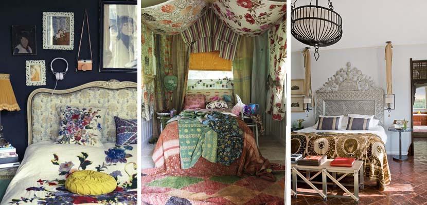 Dormitorios en estilo boho chic - Dormitorio vintage chic ...