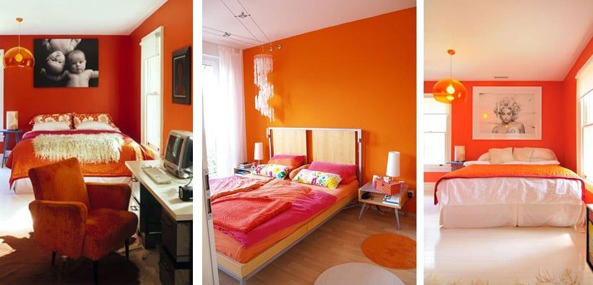 Elegir un dormitorio naranja - Combinacion de colores para habitaciones ...