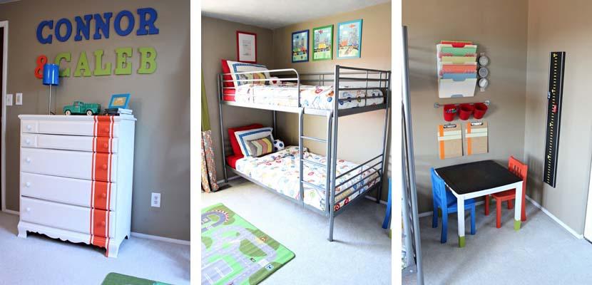 Habitaciones compartidas infantiles