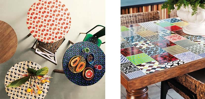 Consejos para dise ar tu propia mesa mosaico for Azulejos rotos decoracion