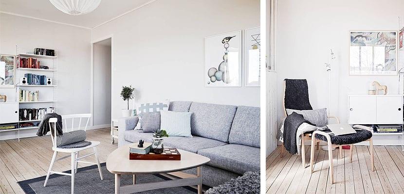 apartamento decorado en tonos suaves