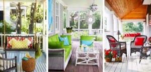 Tips para decorar un porche