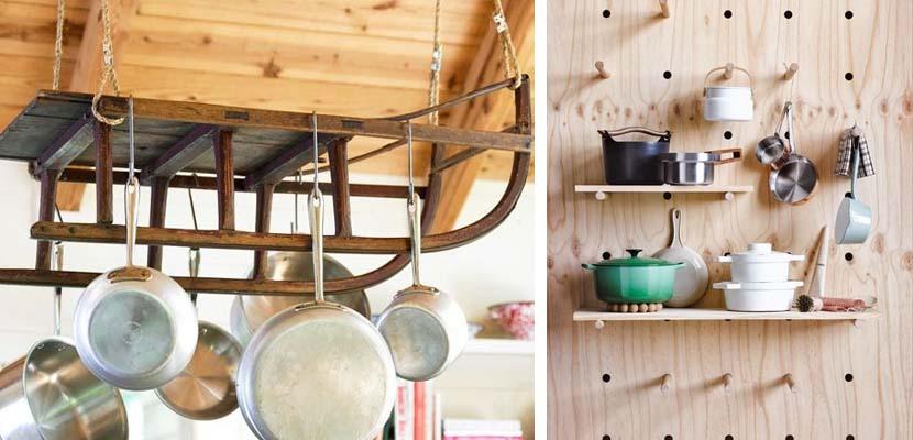 El mejor almacenaje para los utensilios de cocina - Almacenaje de cocina ...