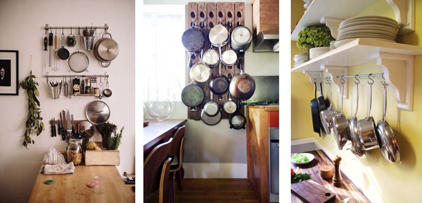 El mejor almacenaje para los utensilios de cocina