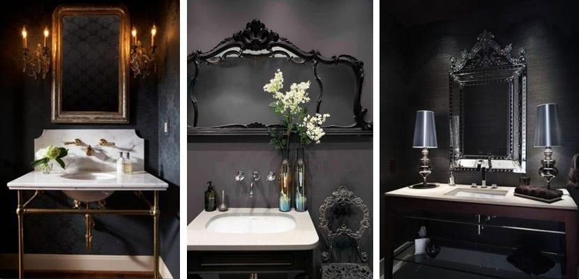 Baños en estilo gótico
