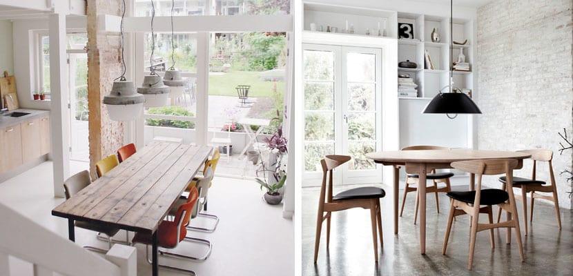 Como decorar un comedor de estilo industrial for Mesas de diseno industrial