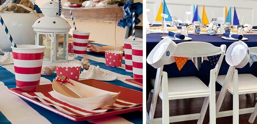 Mesas de estilo marinero