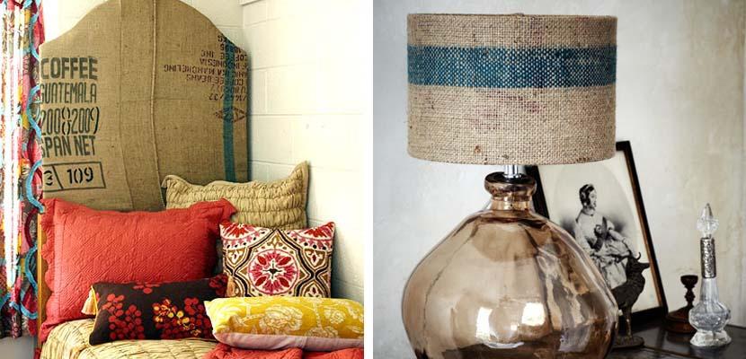 Aprende a decorar con tela de saco - Decorar muebles con tela ...