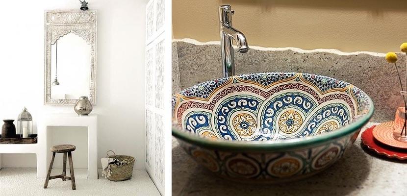 Cuartos de baño de inspiración marroquí