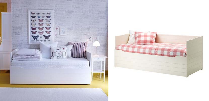 Divanes de ikea muebles vers tiles for Cama brimnes