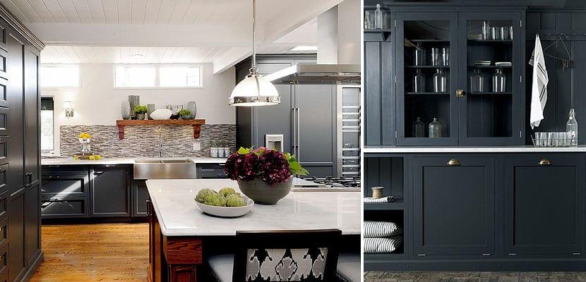 Muebles de cocina negros, una propuesta arriesgada