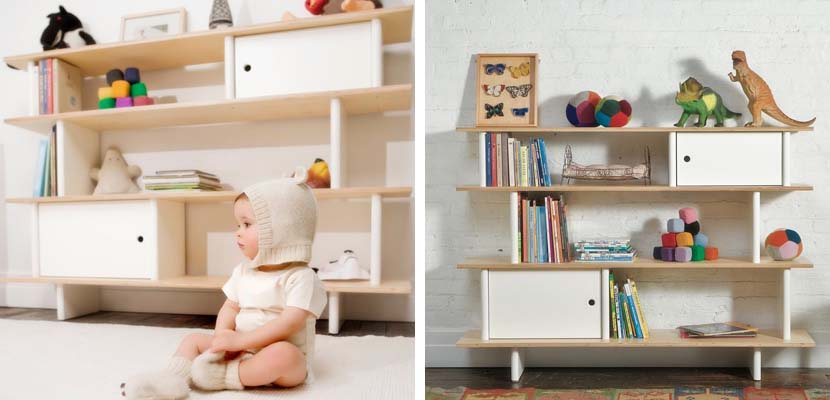 Muebles eco friendly para una habitaci n infantil - Estanteria nordica ...