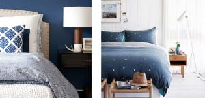 Ropa de cama azul